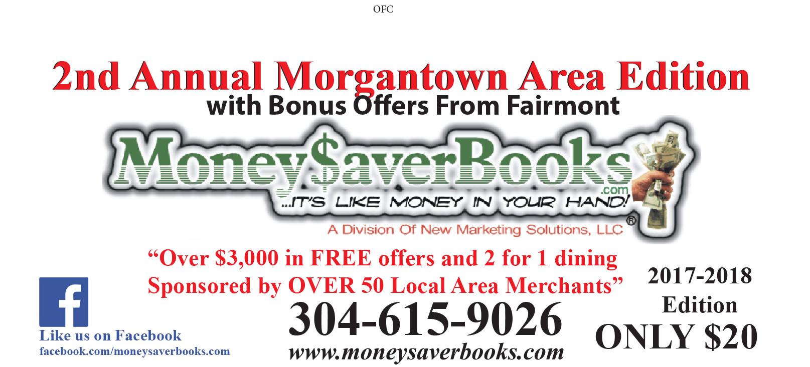 Morgantown coupon book